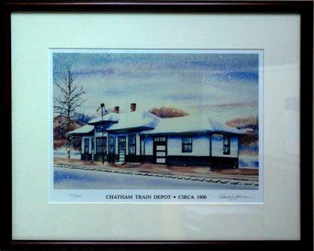 Chatham-Train-Depot-by-Robert-Johnson