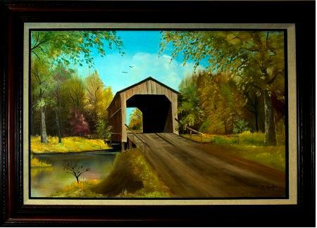 Sugar-Creek-Covered-Bridge-by-Ruth-O'Keefe
