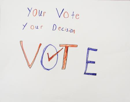 The-words-'Your-voice.-Your-decision.-Vote'-written-in-red-and-blue-with-a-checkmark-in-the-'o'-of-the-word-vote.