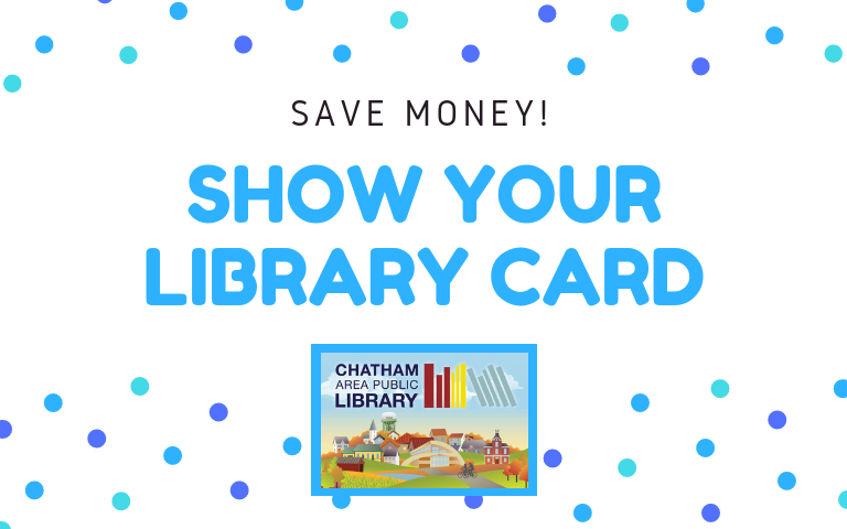 Show your library card