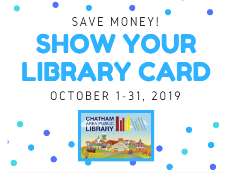 Show Your Library Card October 2019 Image